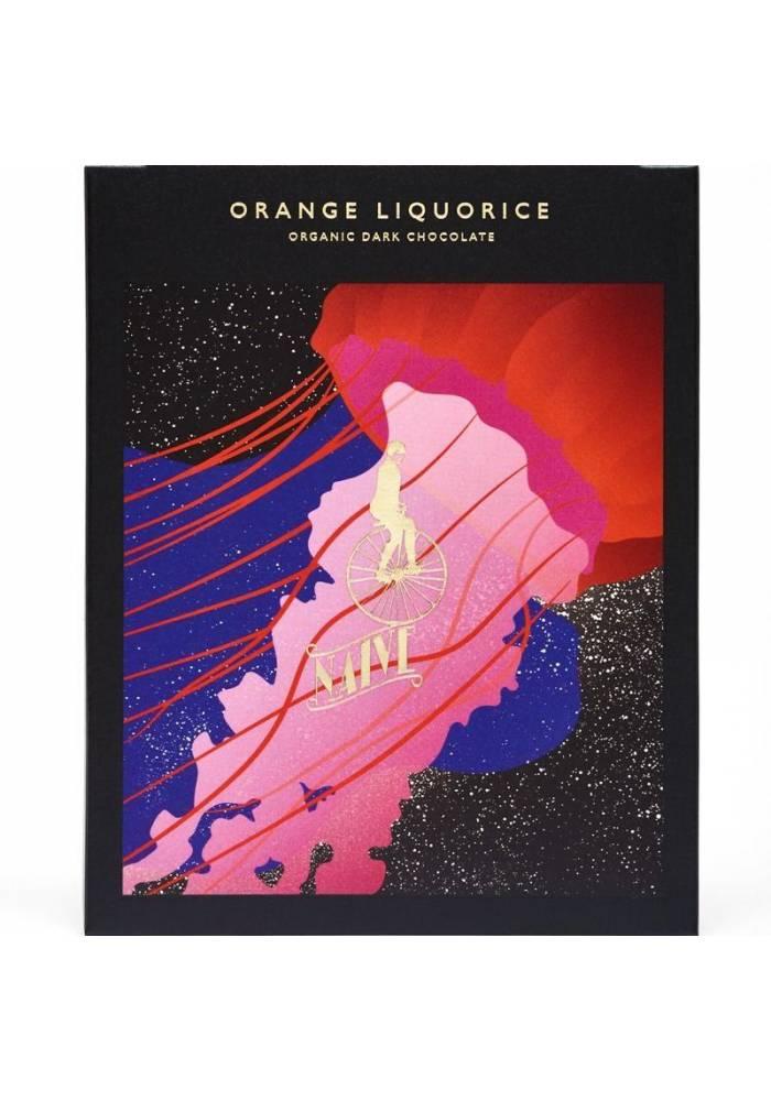 Naive Orange Liquorice (lukrecja i pomarańcza)