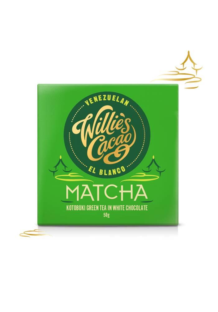 Willie's Cacao biała z matchą Kotobuki
