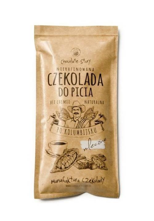 Pitna mleczna czekolada z Manufaktury Czekolady