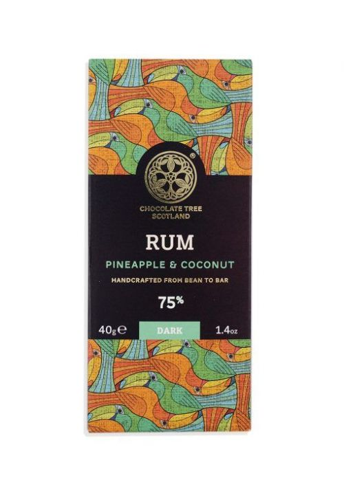 Chocolate Tree Rum Pineapple Coconut 70% (rum, ananas, kokos)