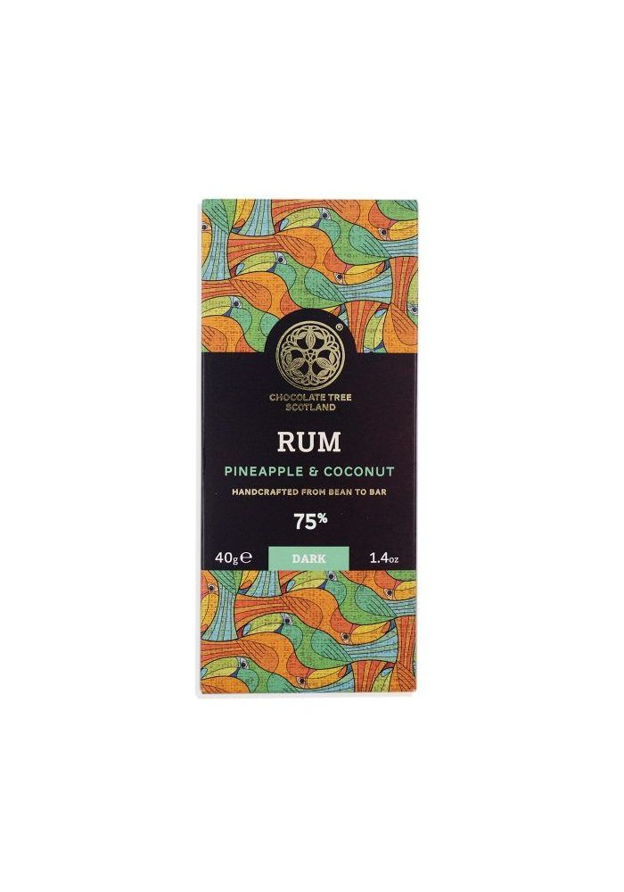 Chocolate Tree Rum Pineapple Coconut 70% Rum Ananas Kokos