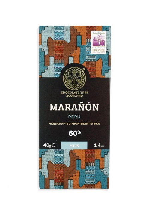 Chocolate Tree Marañón Peru Milk 60%