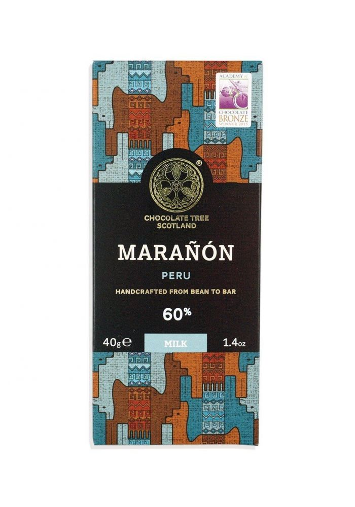 Chocolate Tree Peru Maranon Milk 60%
