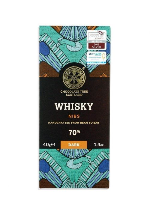 Chocolate Tree Whisky Nibs 70%