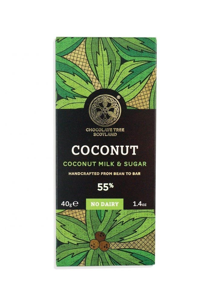 Chocolate Tree Coconut Milk & Sugar 55% (mleko kokosowe i cukier kokosowy)