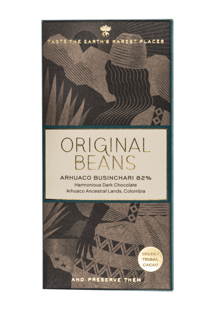 Original Beans Arhuaco Businchari 82%